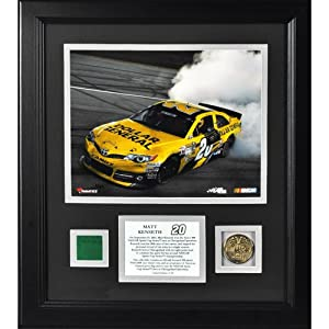 Matt Kenseth 2013 Geico 400 Framed 8