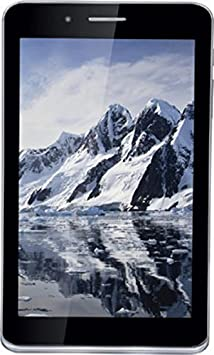 iBall A41 Tablet (7 inch, 16GB, Wi-Fi+ 3G+ Voice Calling), Charcoal Grey at amazon