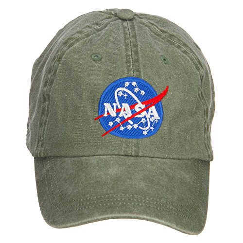 nasa-insignia-embroidered-washed-cap-olive-osfm