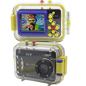 Acqua DC-1231B Digital Still Camera with waterproof case