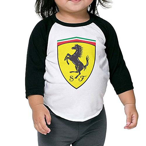 tinghao-ferrari-logo-3-4-sleeve-raglan-baseball-t-shirts-for-kids-black