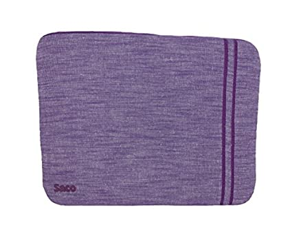 Saco-Washable-Fabric-Laptop-Notebook-Ultrabook-Sleeve-Bag-Zipper-Case-with-Accessories-Adapter-Pocket-Suitable-for-Micromax-Canvas-Lapbook-L1161-11.6-inch-Laptop