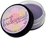 NOT Soap Radio Greeting Card Lip Balm For The Best Bridesmaid 0.51 Ounce