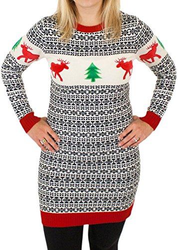 Holiday ReindeerHoliday Reindeer Sweater Dress