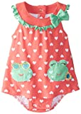 Watch Me Grow! by Sesame Street Baby Girls' Frog Knit Dress