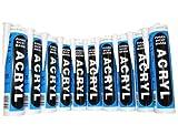 Bau Acryl 10 Stk. Kartuschen - Profiqualität 310ml Fb.weiss Dichtstoff