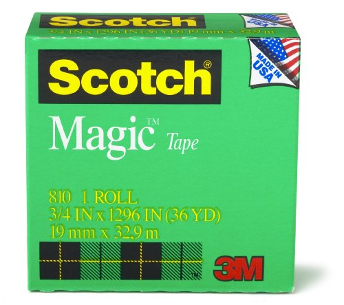 Best Price Scotch Magic Tape 3 4 x 1296 Inches Boxed 1 Roll 810B00006IF5S