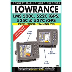 LOWRANCE LMS 520C, 522C iGPS, 525C, &amp; 527C IGPS