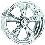 "American Racing Hot Rod Torq Thrust II VN505 Polished Wheel (16x8""/5x4.75"")"