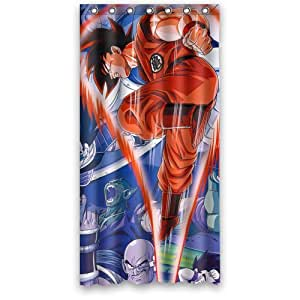 Japanese anime dragon ball z cool goku custom for Dragon ball z bathroom