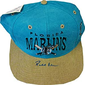 Rob Nenn Autographed Signed Florida Marlins Hat by Hollywood+Collectibles