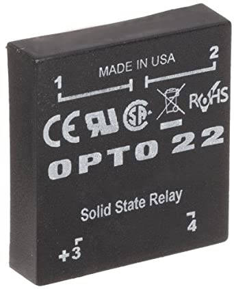 opto 22 dc200p p model dc control solid state relay 200. Black Bedroom Furniture Sets. Home Design Ideas