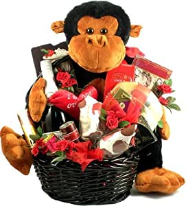 Amazon.com : Gift Basket Village Ape Over You Deluxe Valentine Gift