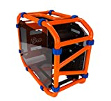 IN WIN PCケースD-Frame mini Orange Mini-ITX IW-CA03MINI/O
