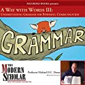 The Modern Scholar: A Way With Words Part III: Grammar for Adults (       UNABRIDGED) by Michael D.C. Drout