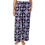 Jockey Women's Plus Size Traditional Printed Floral Long Pant