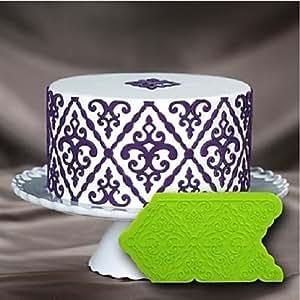 Amazon.com: Silicone Baking Molde Fondant Gum Paste Cake Decor Mould