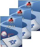 15 Vacuum Cleaner Bags, 3 air Filters, 3 Motor Filters for Miele Cat & Dog, Tango Plus, S 241 to S 256 i S 290 and S 299 i, S 300 i to S 399 i, S 4000 and S 4999, S 500 and S 599, S 700 and S 799, S 4, FXpro 11