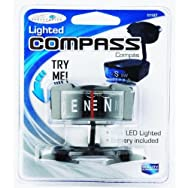 Custom Accessories 11157 Lighted Compass-LOW PROFILE COMPASS