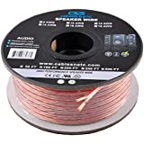 C&E CNE62287 100-Feet 16AWG Enhanced Loud Oxygen-Free Copper Speaker Wire Cable