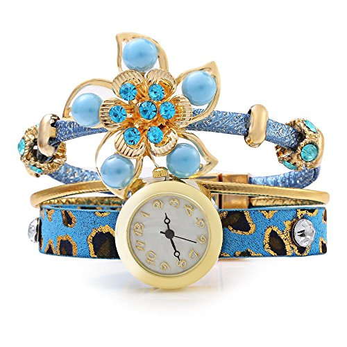 leopard-shop-reloj-de-pulsera-de-cuarzo-hembra-vogue-bohemian-jewelry-poly-uretano-banda-azul-claro