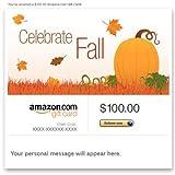 Amazon Gift Card - E-mail - Seasonal (Celebrate Fall)