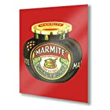 MARMITE Retro Kitsch METAL Wall Sign Plaque Vintage Advert poster (A5 Small: 20cm x 15cm - 8
