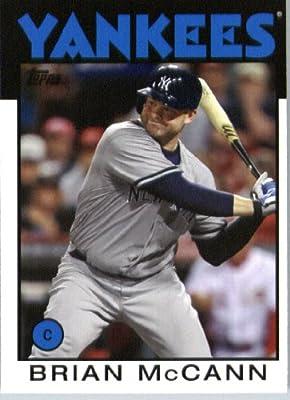 2014 Topps Archives Baseball Card # 114 Brian McCann - New York Yankees