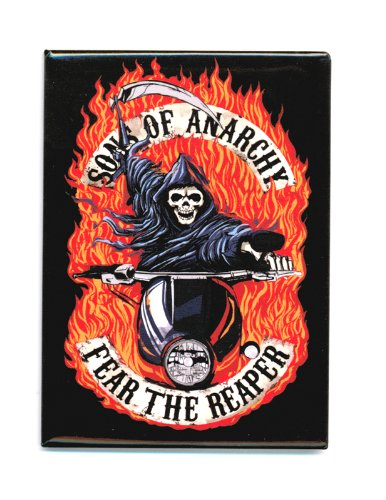 Sons Of Anarchy Fear The Reaper Magnet