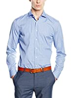 Hackett London Camisa Hombre (Azul)