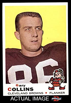 1969 Topps # 234 Gary Collins Cleveland Browns-FB (Football Card) Dean's Cards 6 - EX/MT
