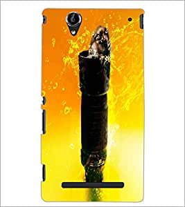 PrintDhaba Tower D-2848 Back Case Cover for SONY XPERIA T2 ULTRA (Multi-Coloured)