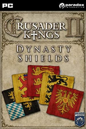 Crusader Kings II: Dynasty Shields DLC Pack [Online Game Code]