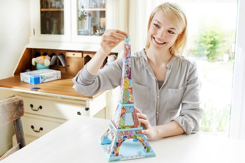 Ravensburger Tula Moon: Eiffel Tower - 3D Puzzle (216-Piece)