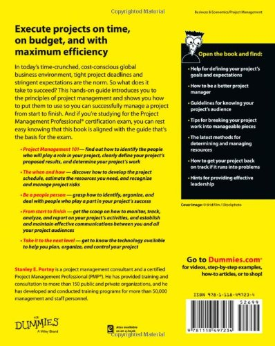 Buy Project Management For Dummies (For Dummies (Business ...