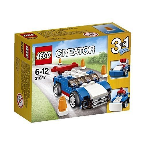 LEGO Creator Blue Racer 3 Set Assemble Toys Set 31027 Japan - 1