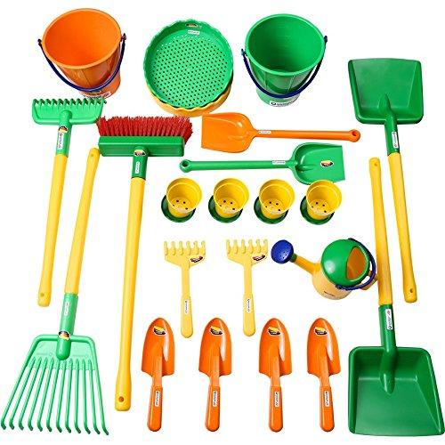 Spielstabil 7548 Garten- und Pflanzset 26 Teile für Spielgruppen