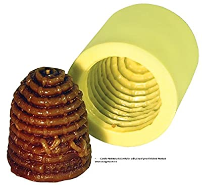"Mann Lake ""Bee Hive Skep"" Candle Mold"