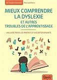 Mieux comprendre la dyslexie : un guide pour les parents et les intervenants
