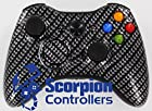Xbox 360 Modded Controller Carbon Fiber 220+ mods By Scorpion Controllers
