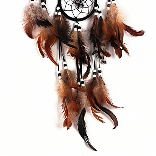 Dremisland Dream Catcher With Feathers shell Wall Hanging Decoration Ornament Gift