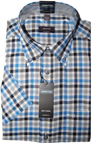 Eterna Casual Shirt Blue (Large)
