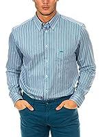 Mc Gregor Camisa Hombre (Azul / Blanco)
