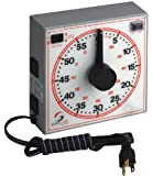 "GraLab Model 171  60 Minute General Purpose Timer, 7-1/2"" Length x 7-1/2"" Width x 2-1/2"" Height, +/-0.015% Accuracy"