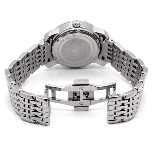 Swiss Legend Women's 23024-WMOP Marquise Diamond Collection Stainless Steel Watch