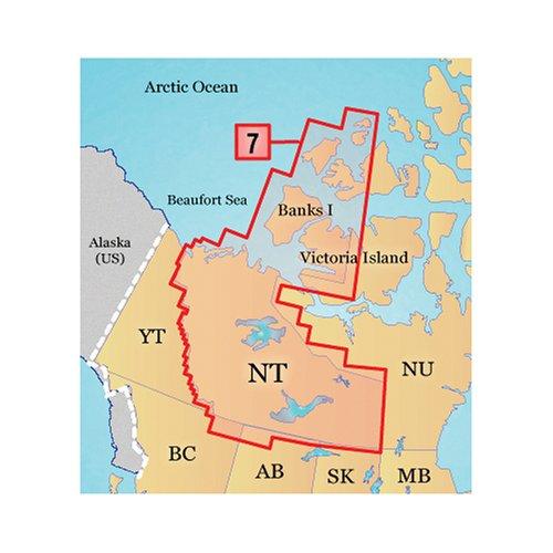 GARMIN 010-C0936-00 Topo NW Territories Canada MicroSD Card