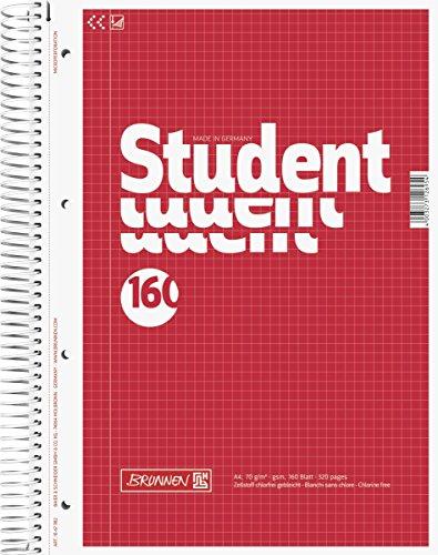 brunnen-1067982-notizblock-collegeblock-student-a4-kariert-70g-m-160-blatt