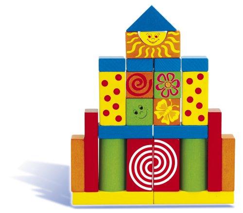 Imagen principal de HEROS 100024252 - Juego de construcción con bloques de madera