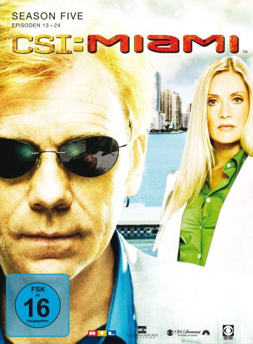 CSI: Miami - Season 5.2 [3 DVDs]