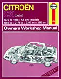 Haynes Garage Quality Car Repair Manual/Book For Citroën CX Petrol (75 - 88) up to F Including a De-Mister Pad and 1 Car Air Freshner.